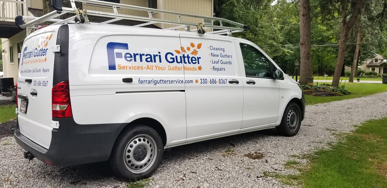 Ferrari Gutter Service Van